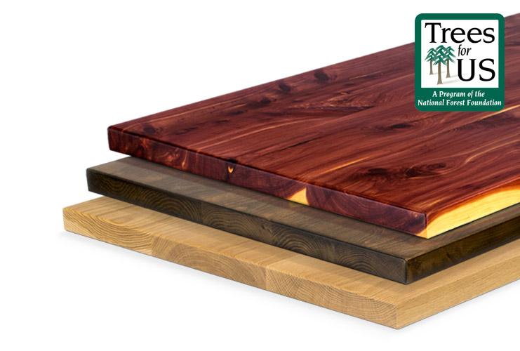 Order UPLIFT Solid Wood Sample Kits | UPLIFT Desk