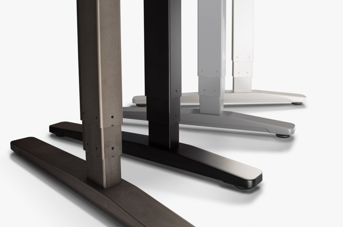 Adjustable height frames uplift desk aluminum by design jeuxipadfo Choice Image