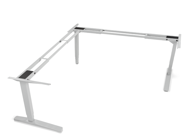 3 Leg Adjustable Height Standing Desk Frame Uplift Desk