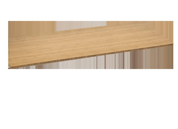 Bamboo Stand Up Desk 1 Quot Thick Desktop Shop Uplift Desk