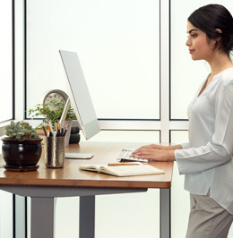 Adjustable Height Standing Desk Selector Uplift Desk