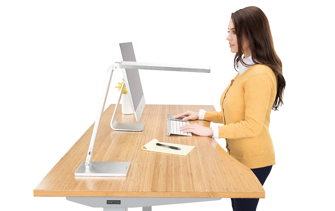 height adjustable standing desk | uplift desk