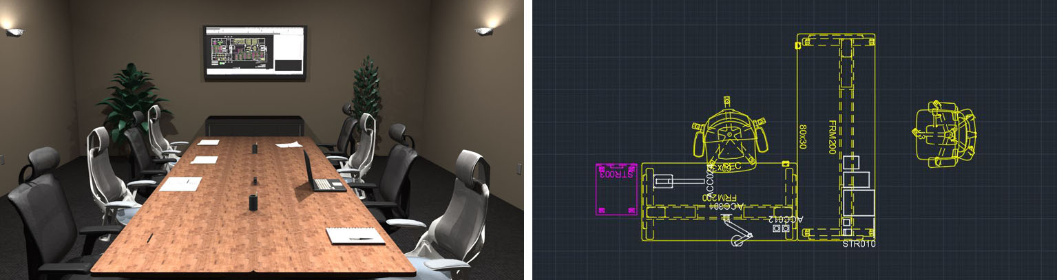 Conference Rooms Designed With 2020 Space Planning Software
