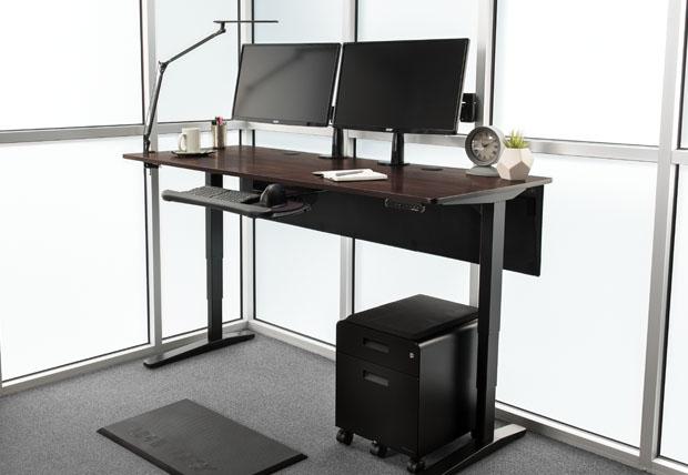 Pre Configured Standing Desks Accessories Uplift Desk