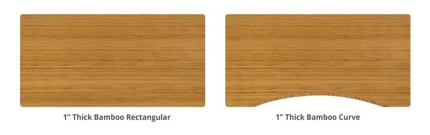 UPLIFT Desk Bamboo Desktop Style