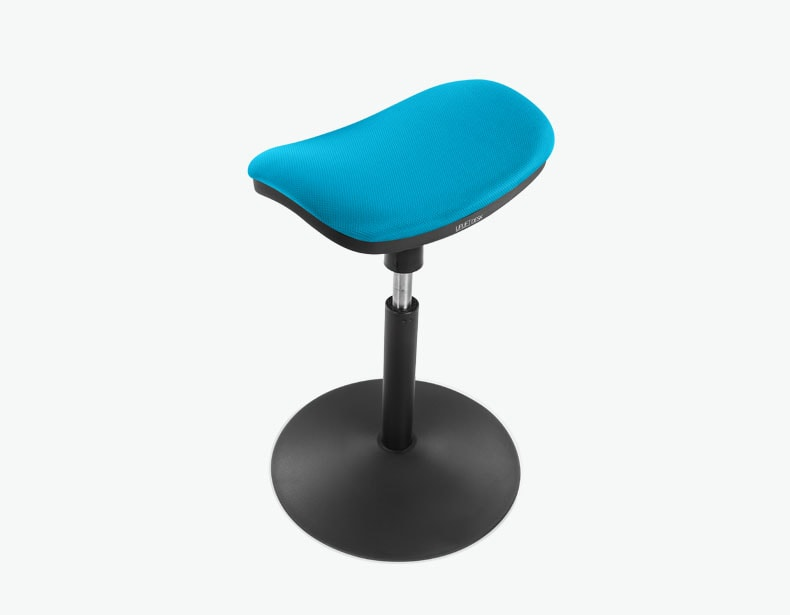Crescent Saddle Stool By Uplift Desk