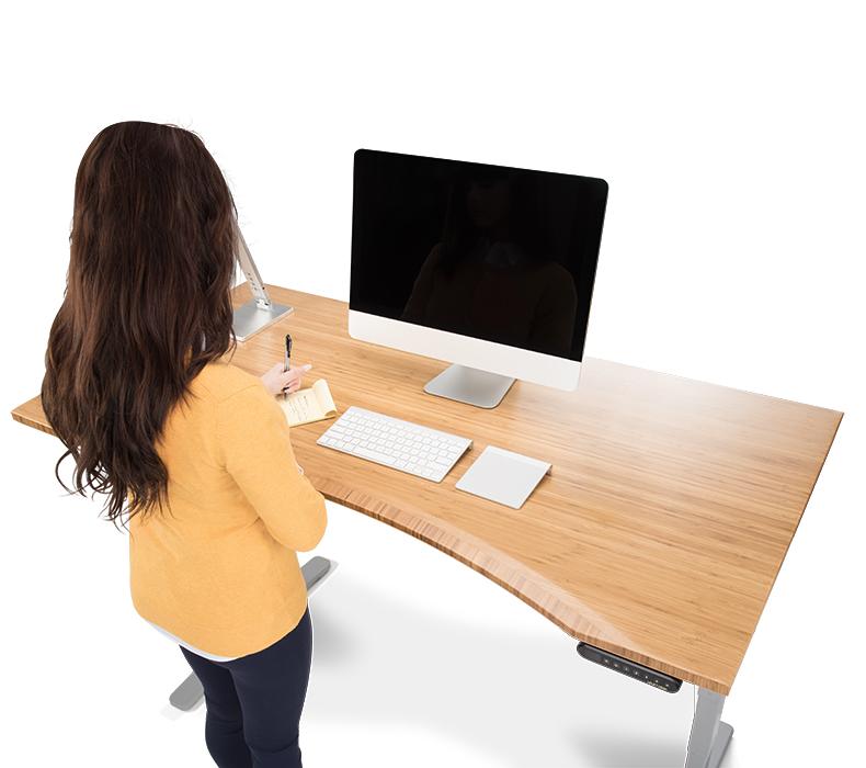 Strange Uplift 1 Thick Bamboo Desktops Home Interior And Landscaping Ologienasavecom