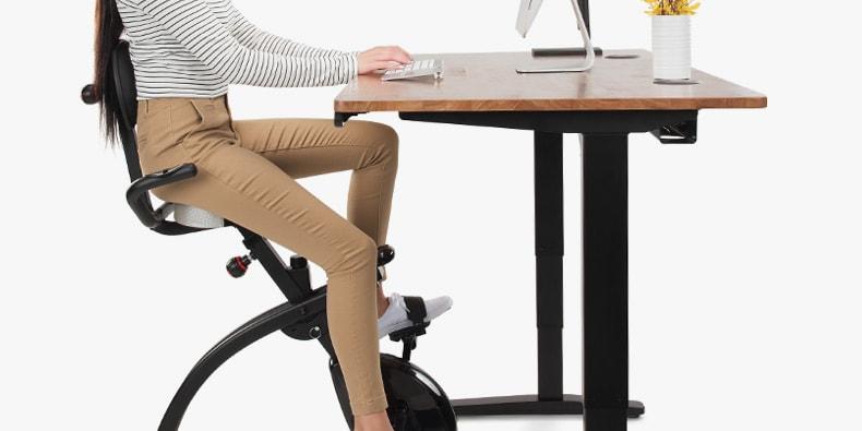 Lifespan Unity Exercise Bike Desk Lifespan Unity Bike Desk