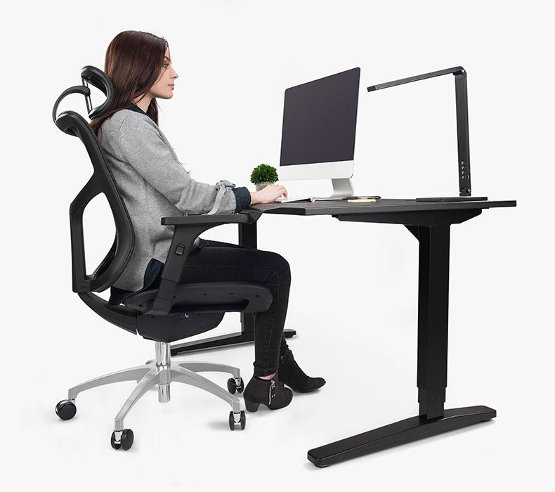 Image of: J3 Ergonomic Chair Uplift Desk