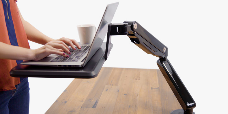 Adapt Mobile Laptop Standing Converters Shop Uplift Desk