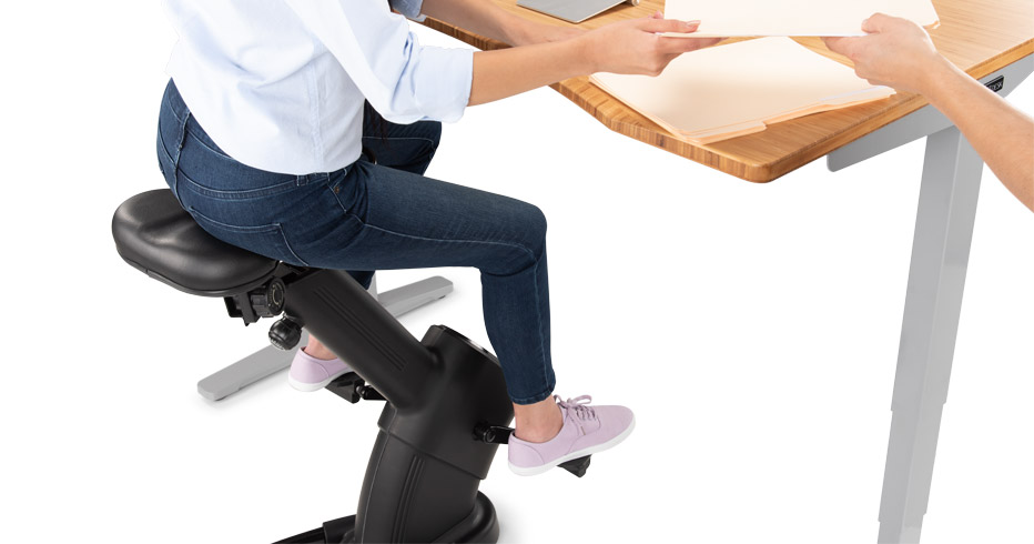 E3 Under Desk Exercise Bike