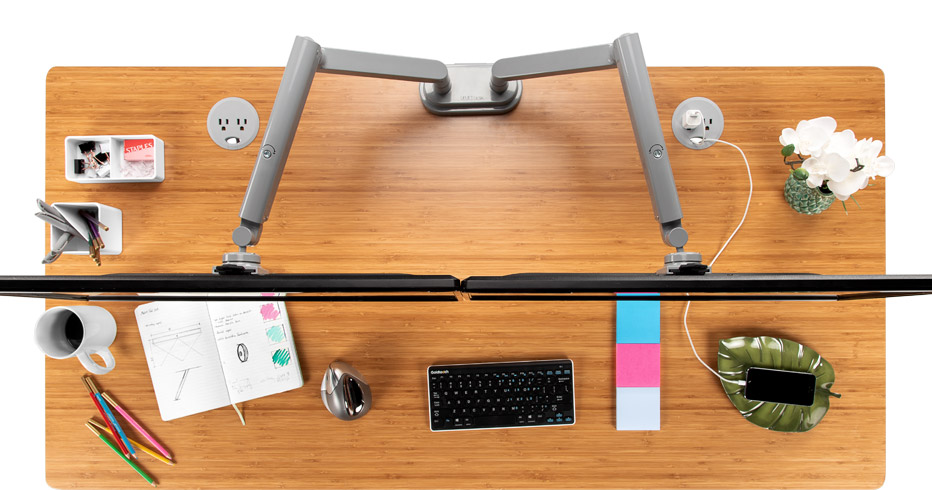 Zilker Dual Monitor Arm