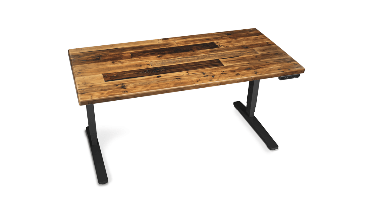 Stand Up Desk with Reclaimed Top